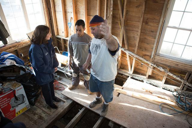 Hilda Solis Staten Island Home Repair Visit