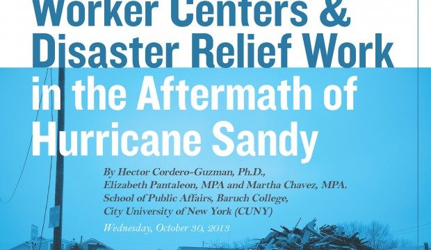 Aftermath of Hurricane Sandy Report Cover